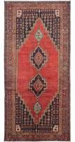 "Ecarpetgallery One-of-a-Kind Koliai Hand-Knotted Runner 4'4"" x 9'6"" Wool Red Area Rug"