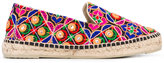 Manebi Rajasthan espadrilles - women - Cotton/Raffia/Leather/rubber - 36