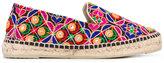 Manebi Rajasthan espadrilles - women - Cotton/Raffia/Leather/rubber - 37