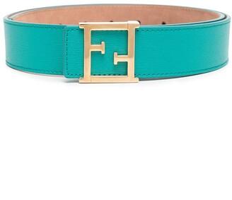 Fendi Pre Owned FF buckle belt