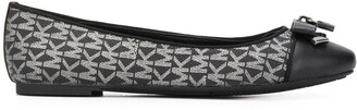 MICHAEL Michael Kors Glitter Logo Ballerina Shoes