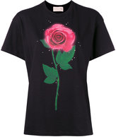 Christopher Kane 'Beauty and the Beast' T-shirt - women - Organic Cotton - M