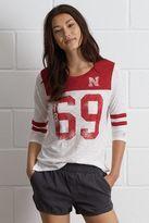 Tailgate Nebraska 3/4 Sleeve Jersey