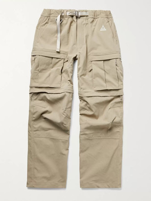 Nike ACG Smith Summit Belted Nylon-Blend Cargo Trousers - Men - Neutrals