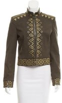 Rachel Zoe Embellished Structured Jacket
