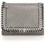 Stella McCartney Falabella Faux-Suede Trifold Wallet
