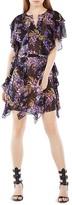 BCBGMAXAZRIA Filippa Floral Kaftan Dress