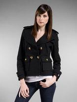 Pea Coat in Black