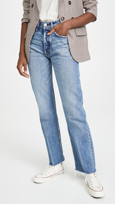 Moussy Ashley's Wide Straight Jeans