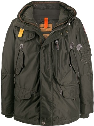 Parajumpers Right Hand multiple-pocket parka