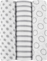 IDEAL BABY ideal baby by the makers of aden + anais 3-pk. Swaddles - Pint Size