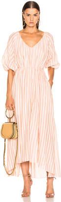 Lemlem Nefasi Empress Dress in Coral | FWRD