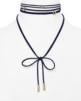 """BaubleBar Star Velvet Lariat Choker Necklace, 12"""""""