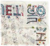 Faliero Sarti printed scarf - women - Cotton - One Size