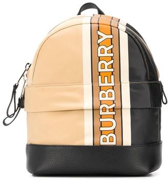 Burberry Mini Nico Stripe backpack