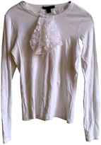 Louis Vuitton White Cotton Top