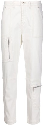 Lorena Antoniazzi High-Rise Cropped Jeans