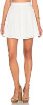 Capulet Button Down Mini Skirt