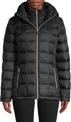 MICHAEL Michael Kors Packable Down-Filled Puffer Jacket
