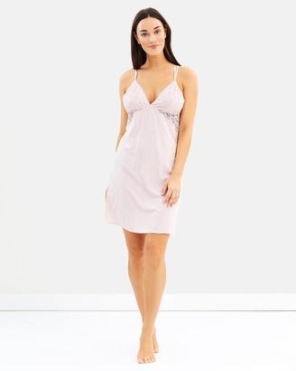 Homebodii Ava Slip Dress - Blush