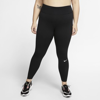 Nike Women's Running Tights (Plus Size Epic Luxe