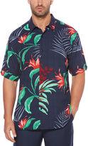 Cubavera Big & Tall All Over Tropical Shirt