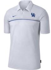 Nike Men's Kentucky Wildcats Sideline Coaches Polo