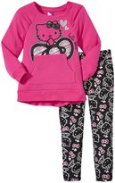 Hello Kitty Tunic & Legging Set - Fuchsia/Purple - 5