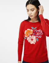 Monsoon Mollie Motif Floral Jumper