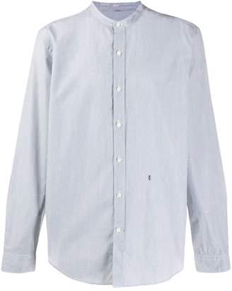 Closed micro striped shirt