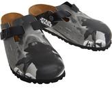 Birkenstock Boston Birko-Flor Narrow Fit Sandals Kylo Ren Black