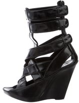 Givenchy Crossover Wedge Sandals