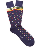 Paul Smith Polka-dot cotton-blend socks
