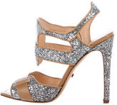 Jerome C. Rousseau Glitter Multistrap Sandals