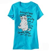 T-Line Grumpy Cat GRRR Junior's T-shirt S