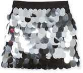 Milly Minis Childrenswear Paillette Sequin Mini Skirt, Size 8-16