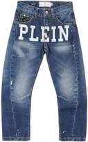 Philipp Plein Denim pants - Item 42597739
