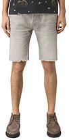 Allsaints Allsaints Band Switch Slim Fit Denim Shorts, Grey