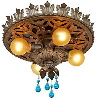 Rejuvenation Romance Revival 4-Light Flush Mount