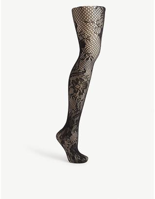 Commando Floral net tights