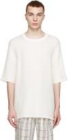 3.1 Phillip Lim Cream Dolman Sleeve Pullover