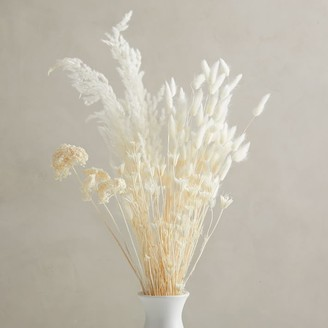 west elm Dried Bleached Bouquet
