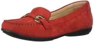 Geox Women's Annytah Classic Nubuck Driving Moccasin Shoe