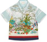 Gucci Children's Savannah print shirt