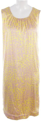 Sly 010 Sly010 Yellow Silk Dress for Women