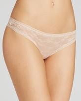 OnGossamer Lace Hip G-String #022601