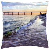 """iRocket - Lovely View - Throw Pillow Cover (24"""" x 24"""", 60cm x 60cm)"""