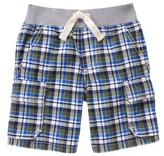 Gymboree Plaid Cargo Shorts