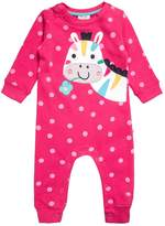 Frugi SNUG AND COSY Jumpsuit raspberry
