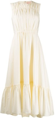 Roksanda ruffled midi dress